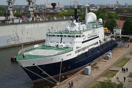 Общество: В Британии заметили российское «шпионское» судно
