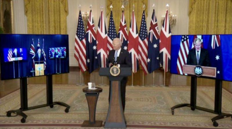 Общество: США, Британия и Австралия заключили соглашение о партнерстве в сфере безопасности