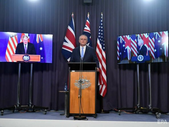 Общество: США, Великобритания и Австралия создали оборонный альянс AUKUS для борьбы с Китаем