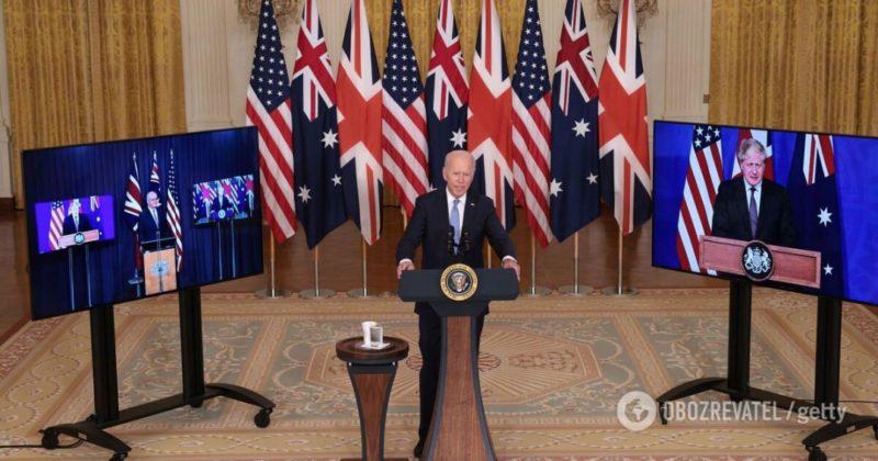 Общество: AUKUS: Британия, США и Австралия подписали исторический пакт о безопасности