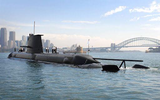 Общество: Австралия будет строить атомные подлодки при участии Великобритании