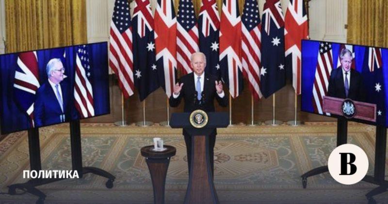 Общество: Австралия, США и Британия сформировали антикитайский союз