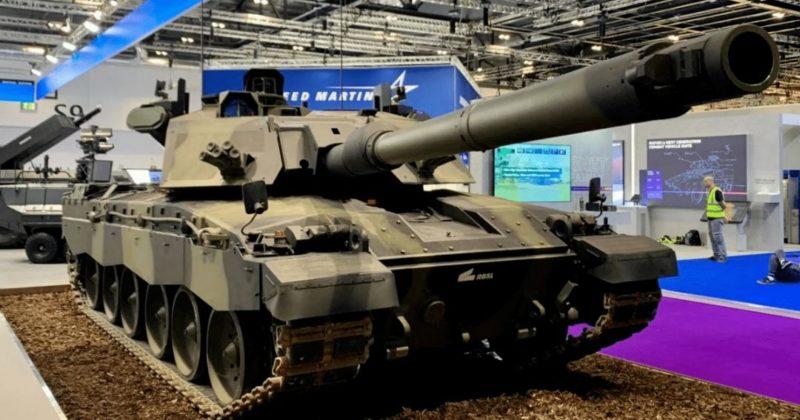 Общество: Самый боеспособный танк НАТО. Британцы показали Challenger-3 (фото)