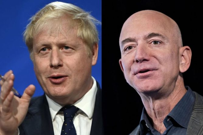Общество: Джонсон потребует от Amazon платить больше налогов