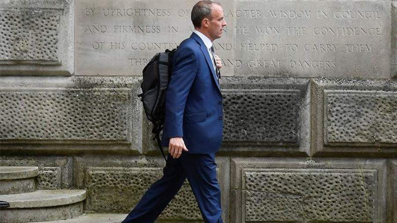 Общество: Глава МИД Великобритании Рааб переведен на должность главы минюста