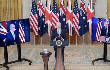 Общество: США, Великобритания и Австралия создали оборонный союз AUKUS