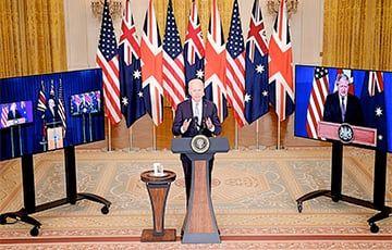 Общество: Китай занервничал из-за создания стратегического блока Австралии, США и Британии