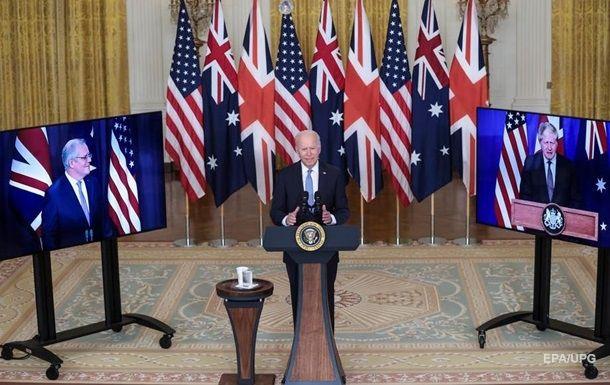 Общество: США, Великобритания и Австралия создали альянс