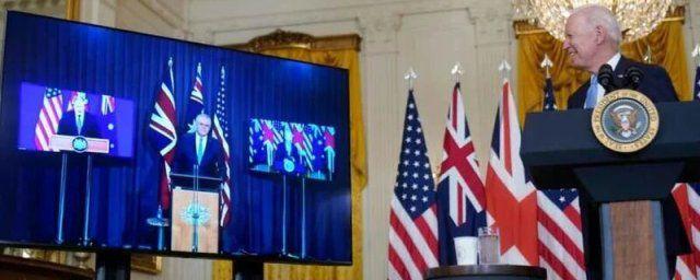 Общество: США, Великобритания и Австралия создали военный союз AUKUS против КНР