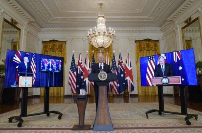 Общество: США, Британия и Австралия создали военный альянс AUKUS