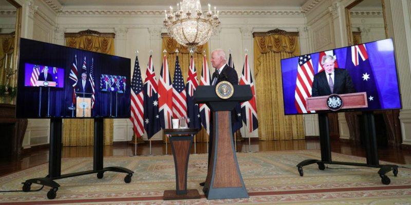 Общество: США, Австралия и Британия объявили о создании оборонного альянса AUKUS