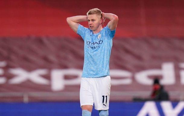 Общество: Зинченко пропустит ближайший матч Манчестер Сити