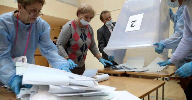 Общество: Вашингтон и Лондон подвергли резкой критике выборы в Госдуму РФ