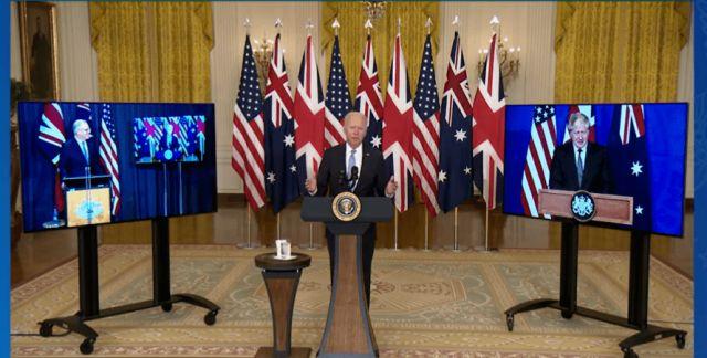 Общество: США, Британия и Австралия создали оборонный альянс