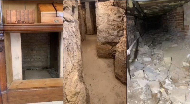 Общество: Британец обнаружил под своим 500-летним домом тайные подземные туннели