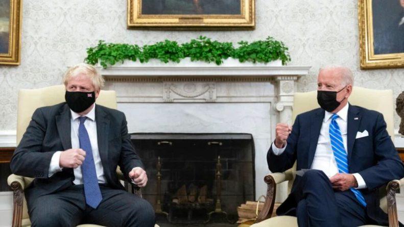 Общество: Байден и Джонсон обсудили угрозы глобального потепления