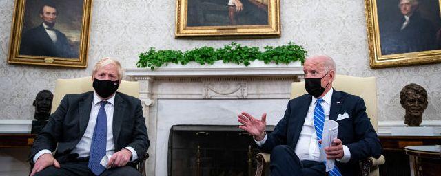 Общество: Британия и США будут руководствоваться общими ценностями в отношении России и Китая