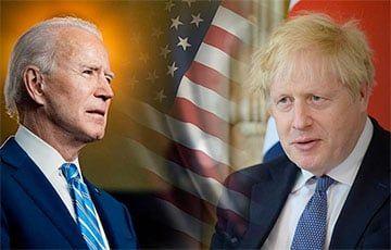 Общество: Джонсон и Байден обсудили стратегию по отношению к России и Китаю