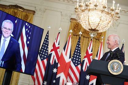 Общество: Китай призвал США, Британию и Австралию избавиться от мышления Холодной войны