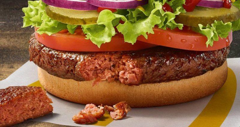Общество: McDonald's запускает продажи первого веганского бургера в Великобритании