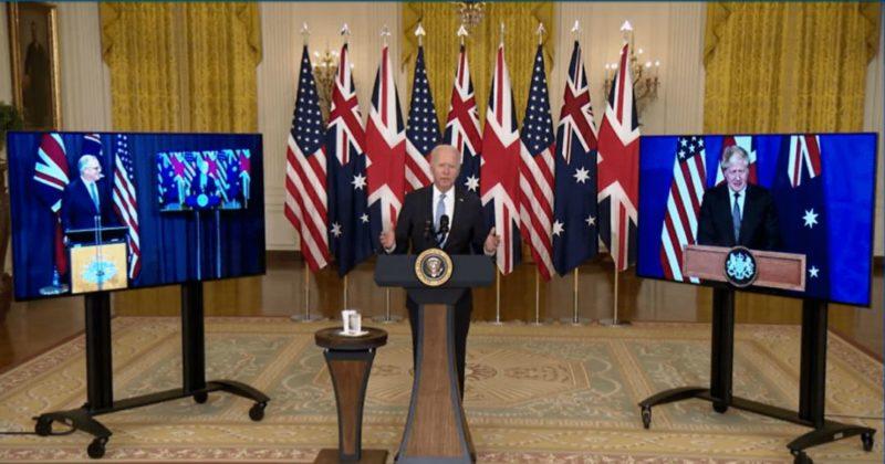 Общество: Для защиты от КНР. США, Британия и Австралия обменяются новейшими оборонными технологиями