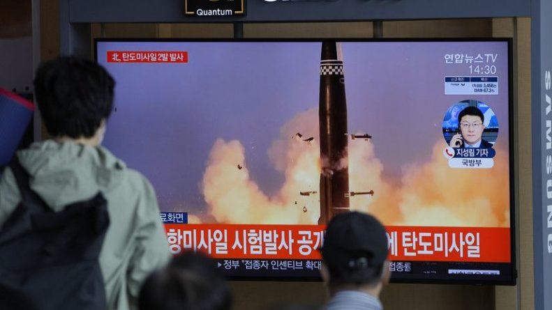 Общество: В МИД Великобритании призвали КНДР прекратить испытания ракет