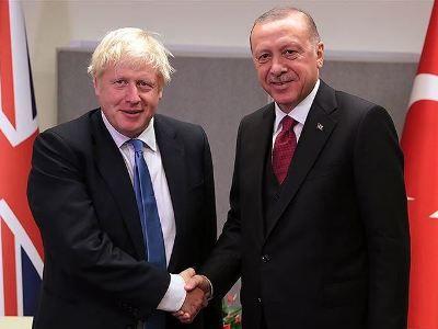 Общество: Президент Турции и премьер-министр Великобритании провели беседу тет-а-тет