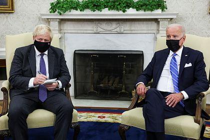 Общество: Джонсон и Байден договорились о подходе к России и Китаю