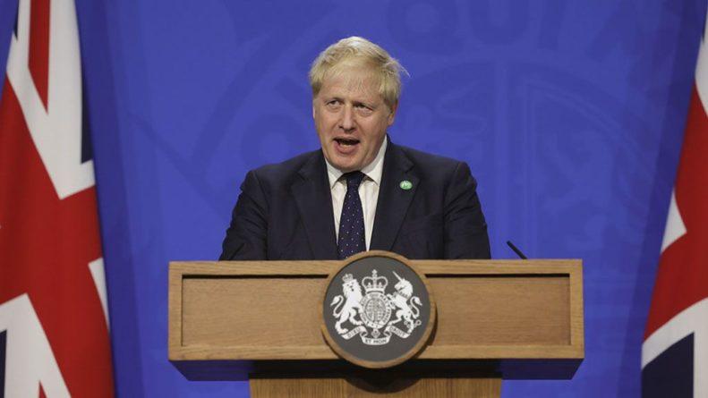 Общество: Премьер-министр Великобритании Борис Джонсон захотел стать Бореем