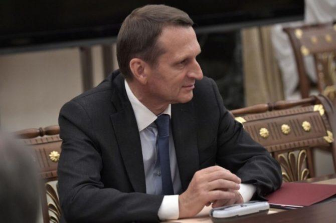 Общество: Глава СВР назвал ложью заявление Лондона по «делу Скрипалей»