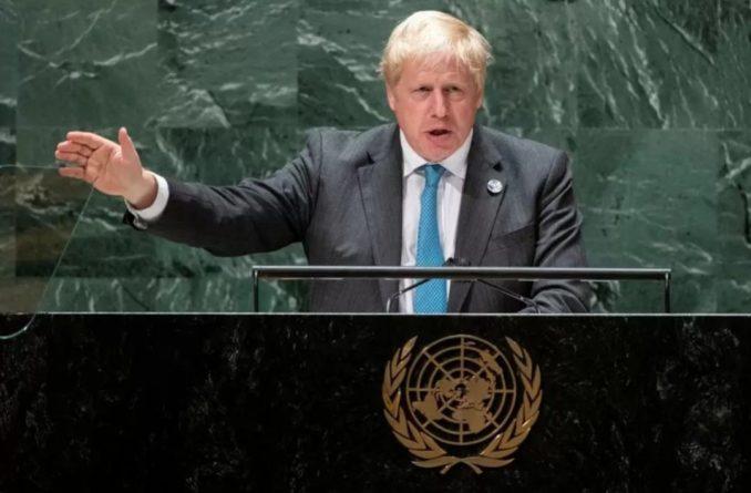 Общество: Борис Джонсон признался в желании взять имя бога ветра Борея