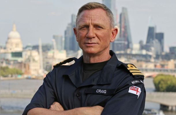 Общество: ВМС Британии присвоили звание почетного коммандера актеру Крейгу: все как у Бонда