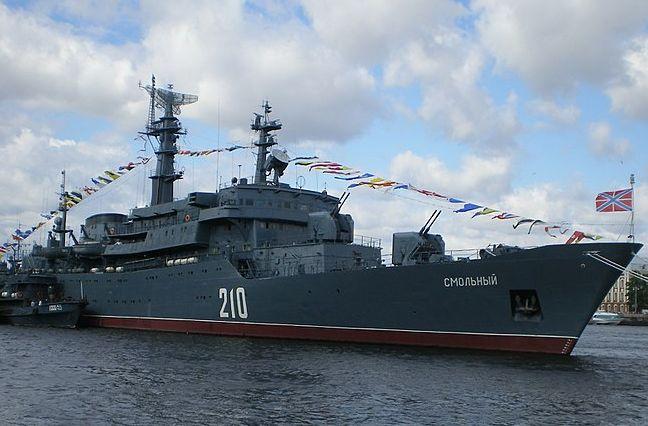 Общество: NetEase: РФ послала сигнал Великобритании, отправив корабль «Смольный» на учения Joint Warrior