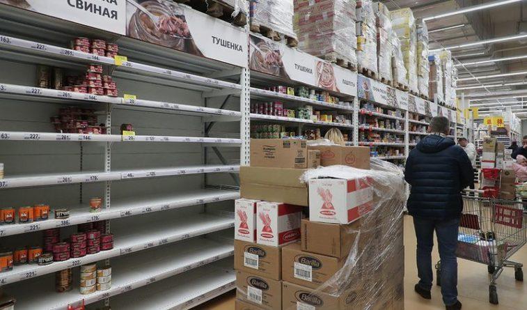 Общество: Великобритания столкнулась с дефицитом продуктов питания