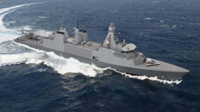 Общество: Британцы приступили к созданию головного боевого корабля нового поколения типа Inspiration