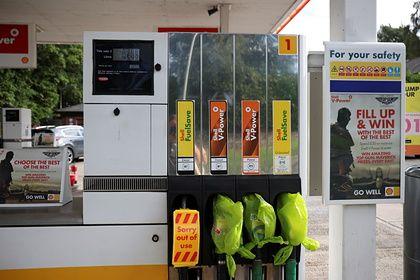 Общество: В Великобритании на заправках закончился бензин