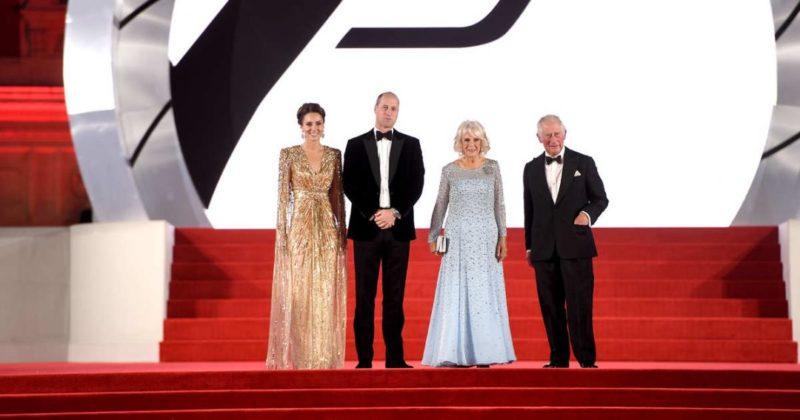 Общество: В Лондоне с помпой прошел премьерный показ нового фильма о Бонде