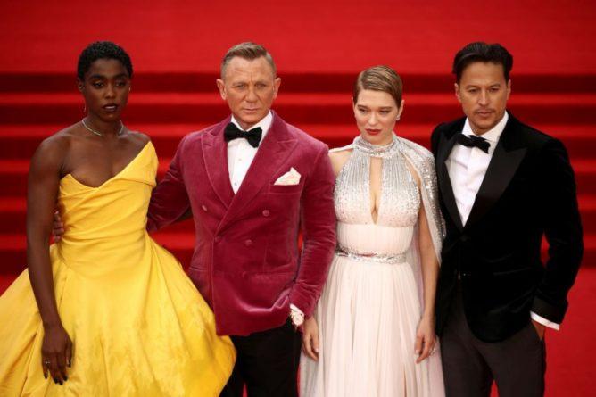Общество: В Лондоне состоялась мировая премьера нового фильма о Джеймсе Бонде