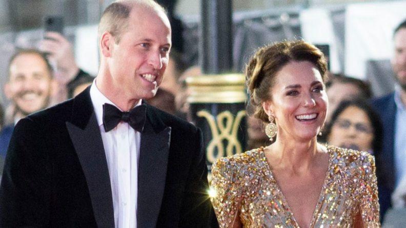Общество: Герцоги Кембриджские посетили премьеру новой части бондианы в Лондоне