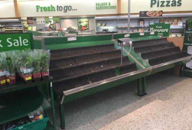 Общество: «Если в кране нет воды»: Лондон «назначил» Москву виновной за опустевшие полки британских супермаркетов