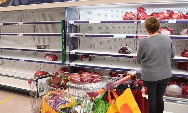 Общество: В магазинах Британии начался дефицит продуктов