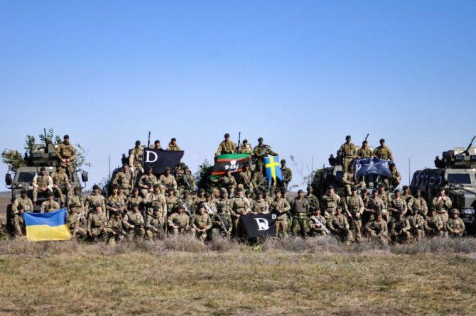 Общество: ВС Украины, Британии и Швеции отработали сценарий контрнаступления в контексте ситуации на границе с Россией