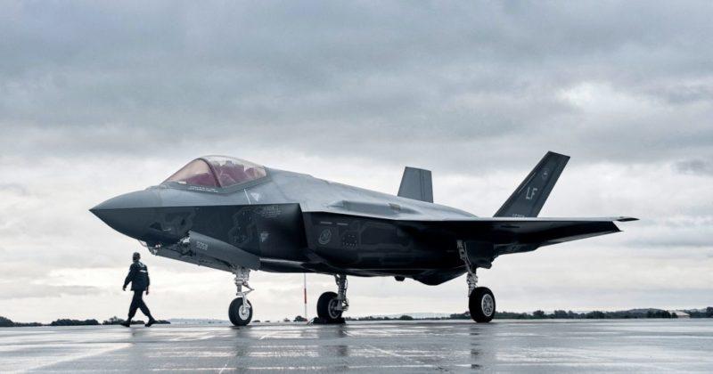 Общество: Первая в Европе. США в Великобритании разворачивают эскадрилью F-35 (фото)