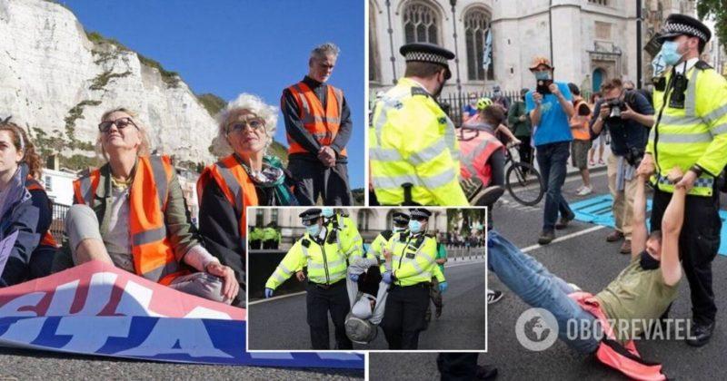 Общество: В Британии ужесточат штрафы за блокировку дорог для климатических активистов