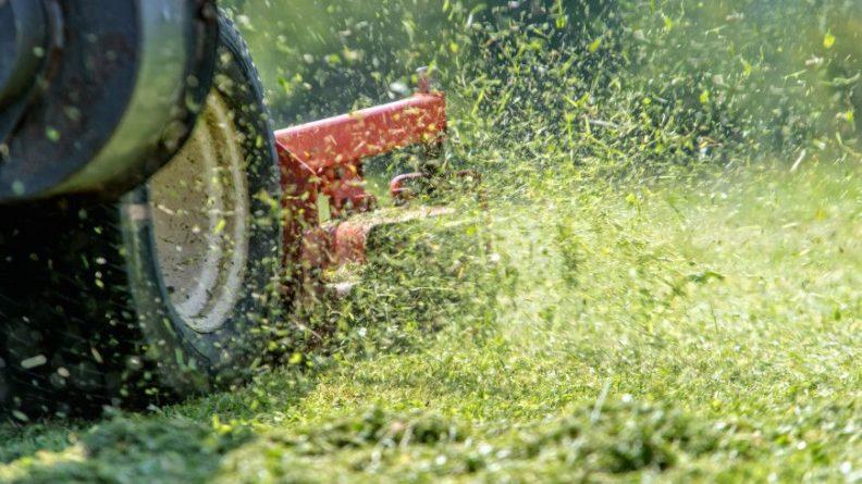 Общество: Британец собрал самую быструю в мире газонокосилку