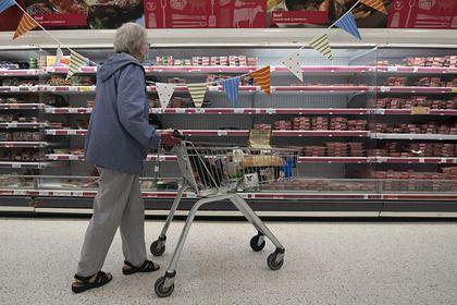 Общество: Британцы пожаловались на нехватку еды и топлива