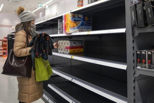 Общество: СМИ: Великобритании грозит дефицит туалетной бумаги из-за резкого роста цен на газ
