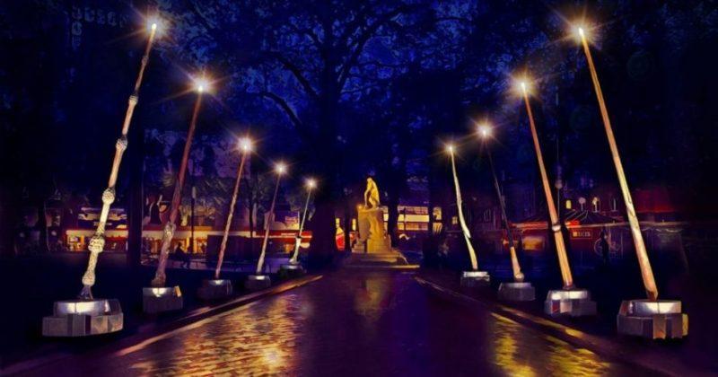 Общество: Волшебные палочки в Лондоне. В Британии празднуют юбилей первого фильма о Гарри Поттере (фото)