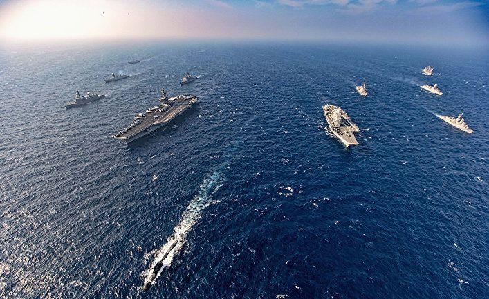 Общество: Южнокорейские СМИ: США, Англия и Япония запугивают Китай войной? (Yahoo News Japan)