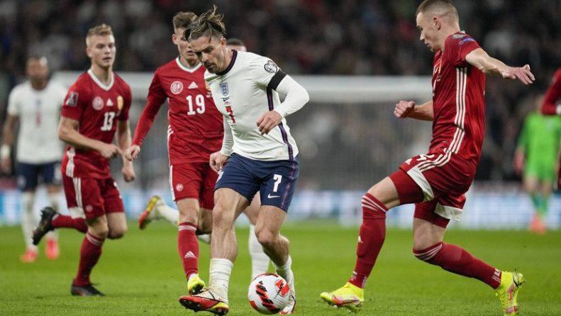 Общество: Англия сыграла вничью с Венгрией в матче отбора на ЧМ-2022